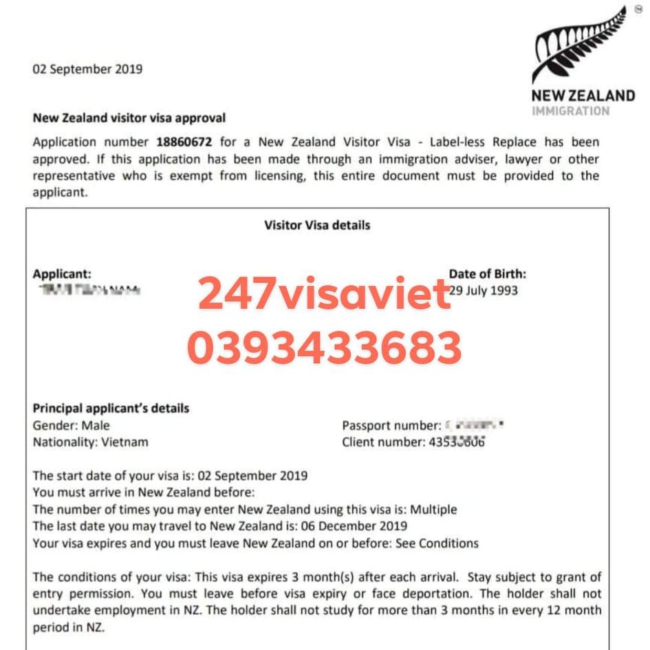 HỒ SƠ YẾU THÌ LÀM SAO ĐỂ XIN VISA NEW ZEALAND THÀNH CÔNG?